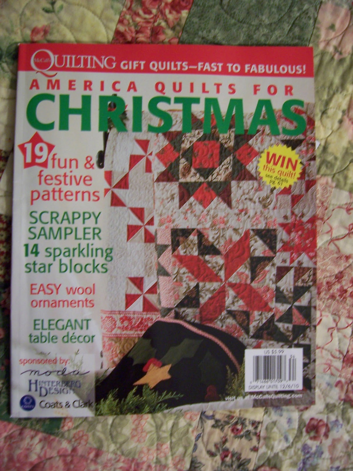 Quilting on Main Street: Relaxing with McCall's America Quilts for ... : quilt for christmas - Adamdwight.com