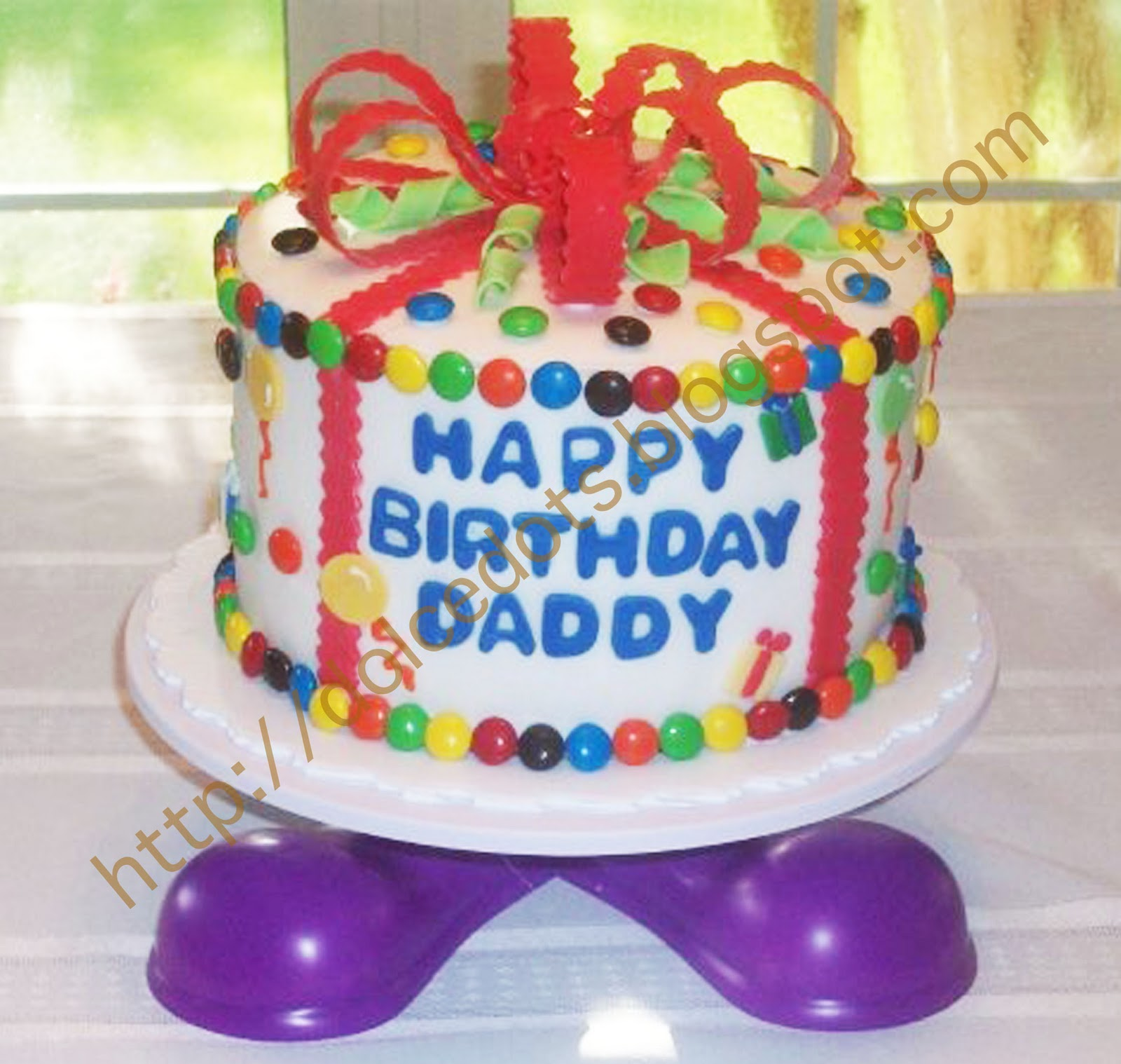 DOLCE DOTS: Daddy s Birthday Cake