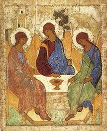 The Old Testament Trinity by Andrei Rublev
