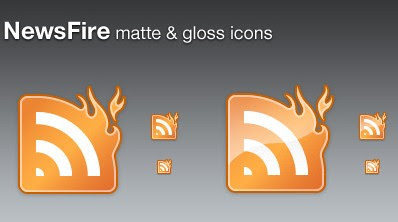 NewsFire Glossy RSS Icons