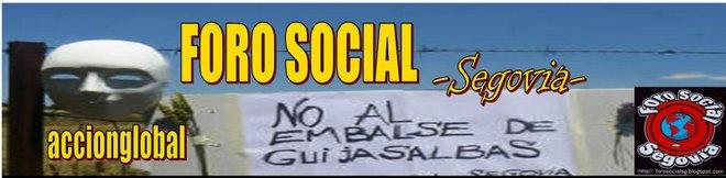 BLOG DEL FORO SOCIAL SEGOVIA