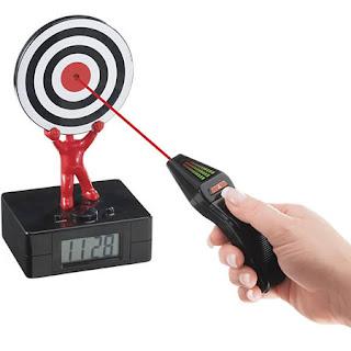 Laser Tag Alarm Clock
