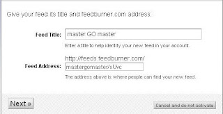 Tips Mengaktifkan Feedburner Email Subscriptions