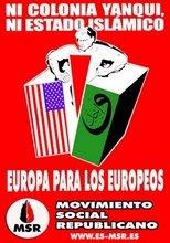 Ni yanqui, ni islámico. ¡europeos!