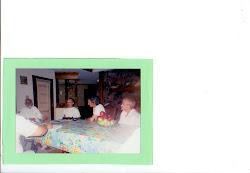 Con el Maestro Vasant en Jackson Mississippi en casa de los Mamuts.