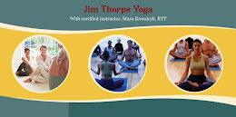 Jim Thorpe Yoga with Maya