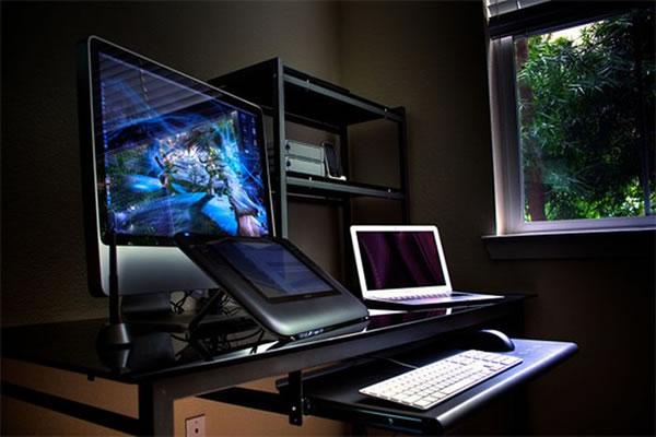 Imagens [Espantosas] Os mais incríveis escritórios em casa  Escritorio9
