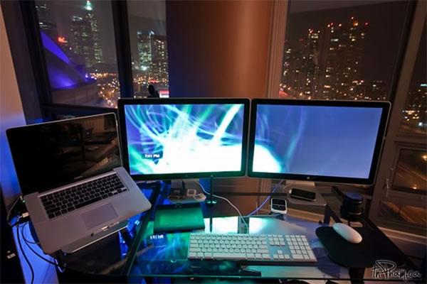 Imagens [Espantosas] Os mais incríveis escritórios em casa  Escritorio12