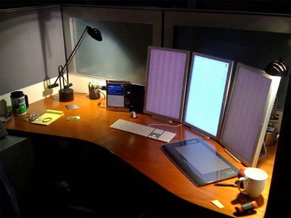 Imagens [Espantosas] Os mais incríveis escritórios em casa  Escritorio16