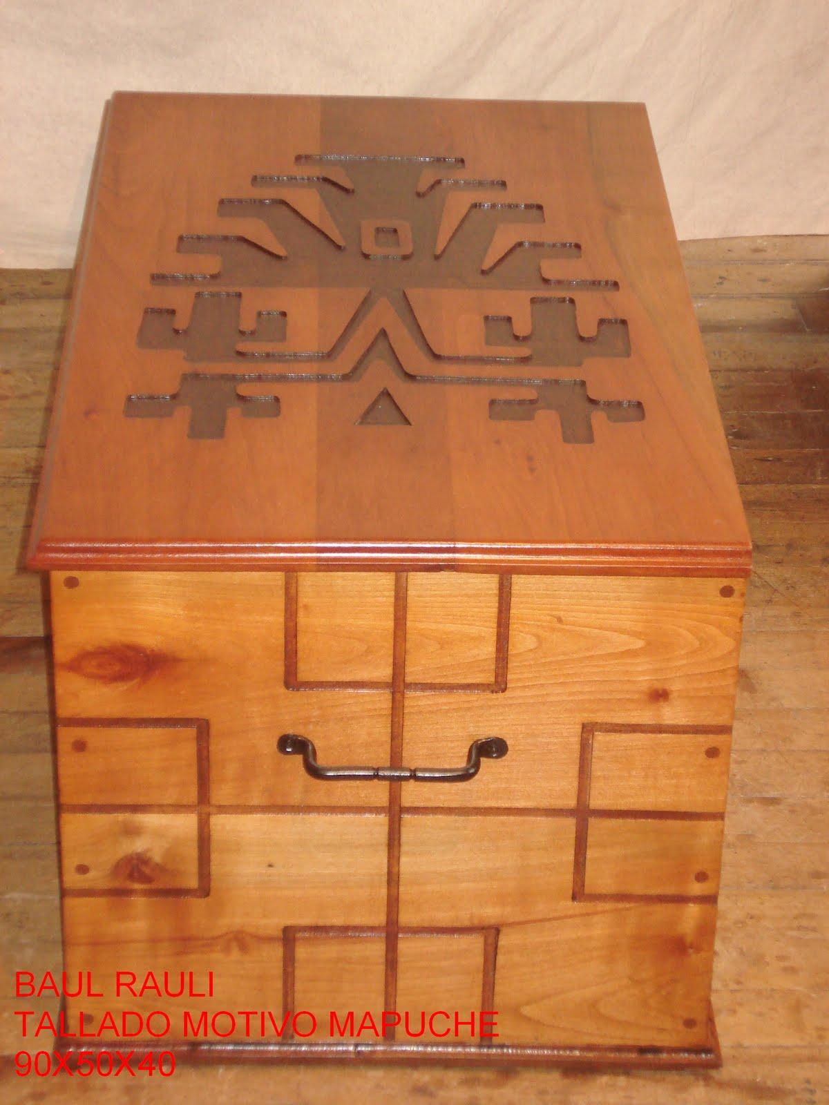 Muebles y artesan as de nahuelbuta muebles r sticos en for Muebles tallados en madera