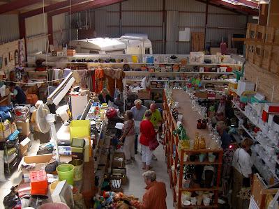 zeeuws zoet rommelmarkten in de schuur
