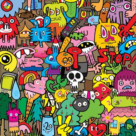 Área Visual: Jon Burgerman, un grande de la ilustración contemporánea.