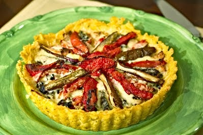Chez Maggie & Jeff: Roasted Vegetable Tart
