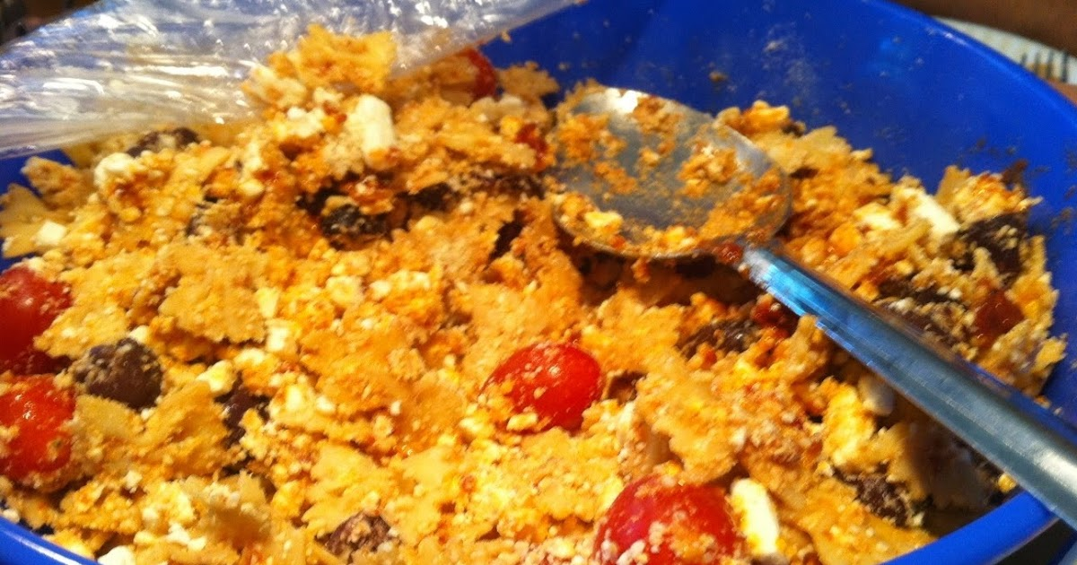 The Cookie Crumbles: Sun-dried Tomato and Feta Pasta Salad