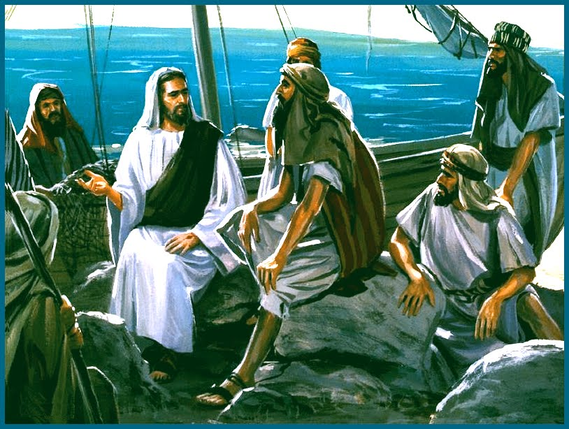 Jesus in a Boat Picture http://abcparish.blogspot.com/2010_06_13_archive.html