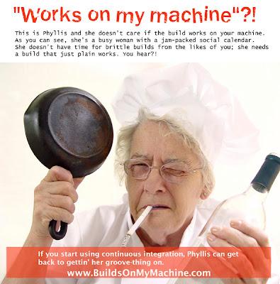 my machine: