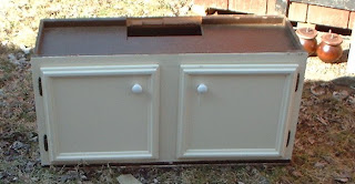 how to repurpose a kitchen cupboard