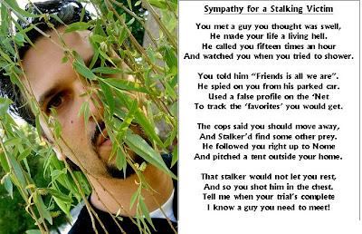 Internet Stalker Greeting Card