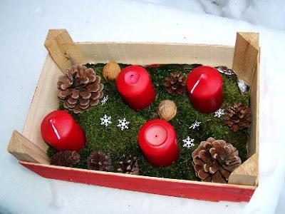 Alternative not-so-traditional Advent wreath – Advent box