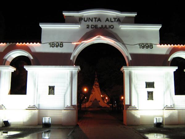 """El arco """"del Centenario"""""""