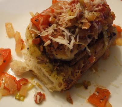 Pesto Meat Rolls