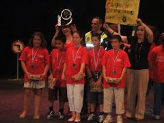 Componentes del equipo del concurso de Educaión Vial