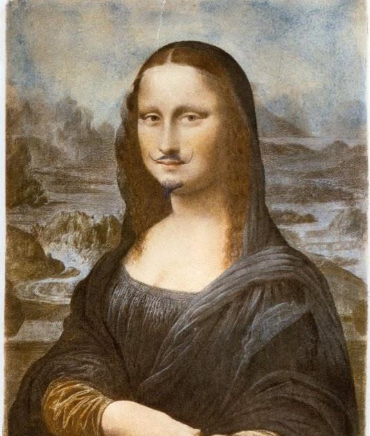 Resultat d'imatges de LHOOQ, de Marcel Duchamp