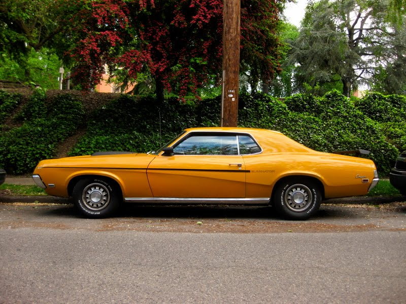 1969 Mercury Cougar Eliminator Hardtop.