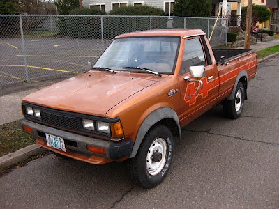 Nissan on Old Parked Cars   1984 Nissan Datsun 720 Pickup