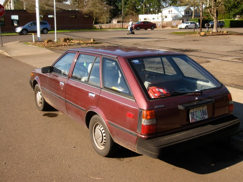 OLD PARKED CARS 1983 DatsunNissan Sentra Wagon