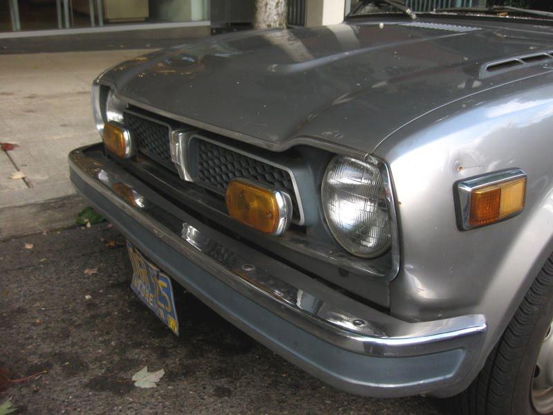 parked cars  honda civic hatchback