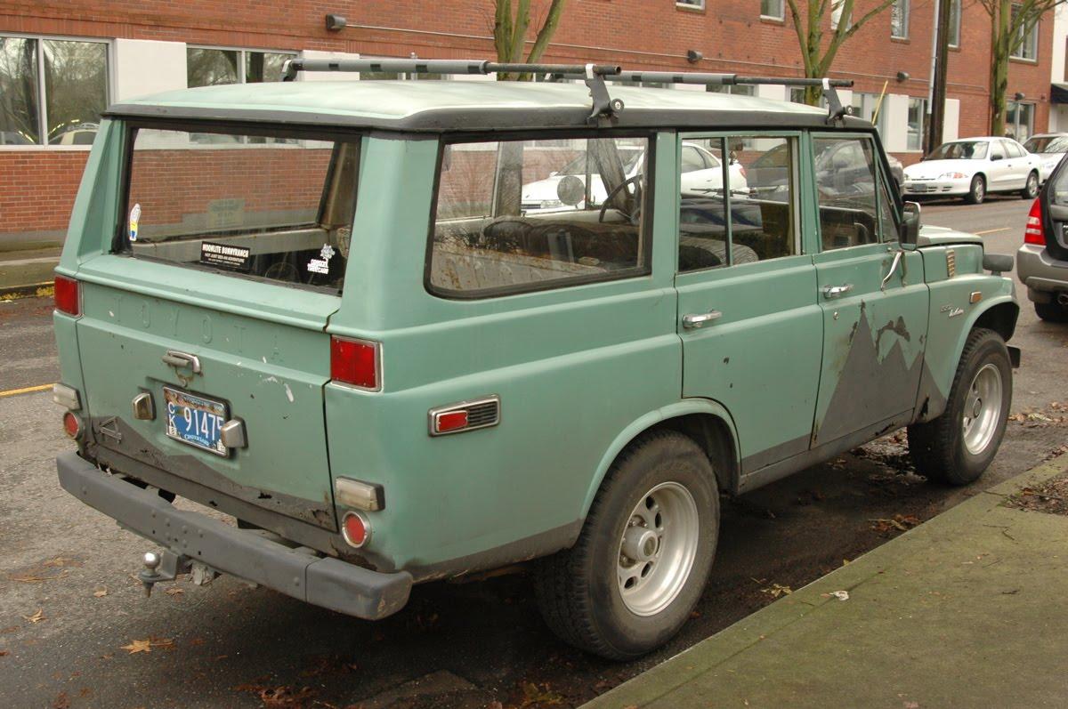 Old Parked Cars 1973 Toyota Land Cruiser Fj55 Wagon