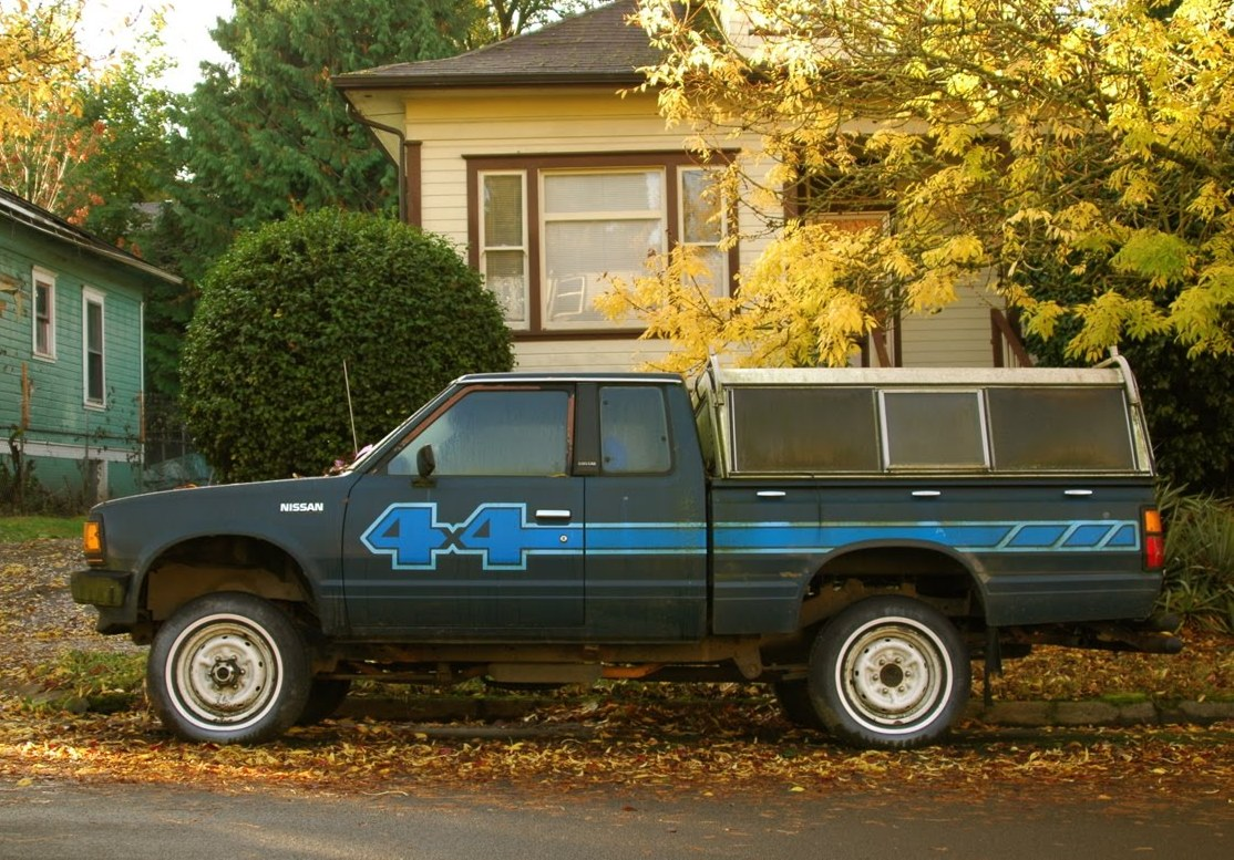 1984 Nissan Pickup 4X4 hd photo