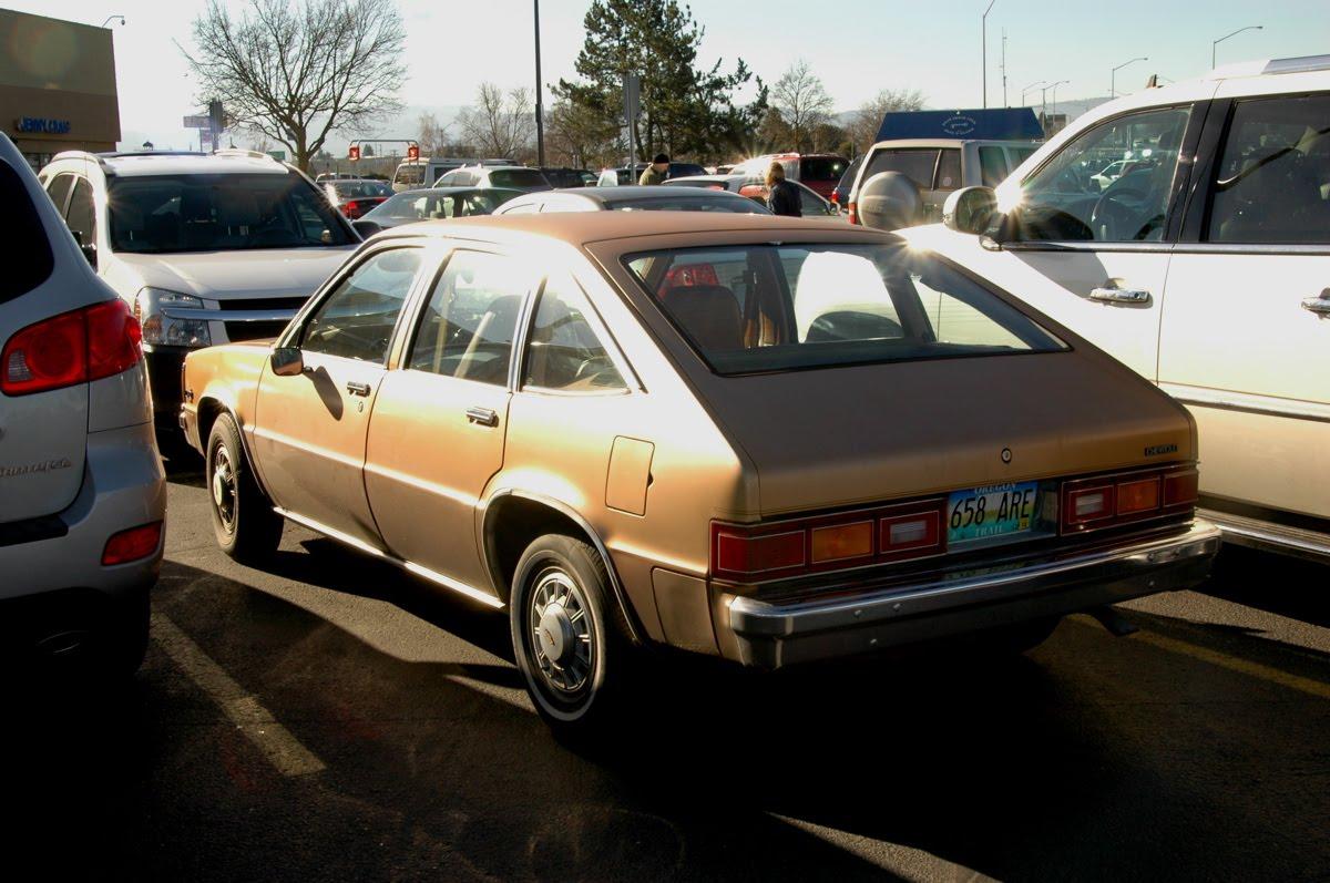 OLD PARKED CARS.: 1982 Chevrolet Citation 5-Door Hatchback.