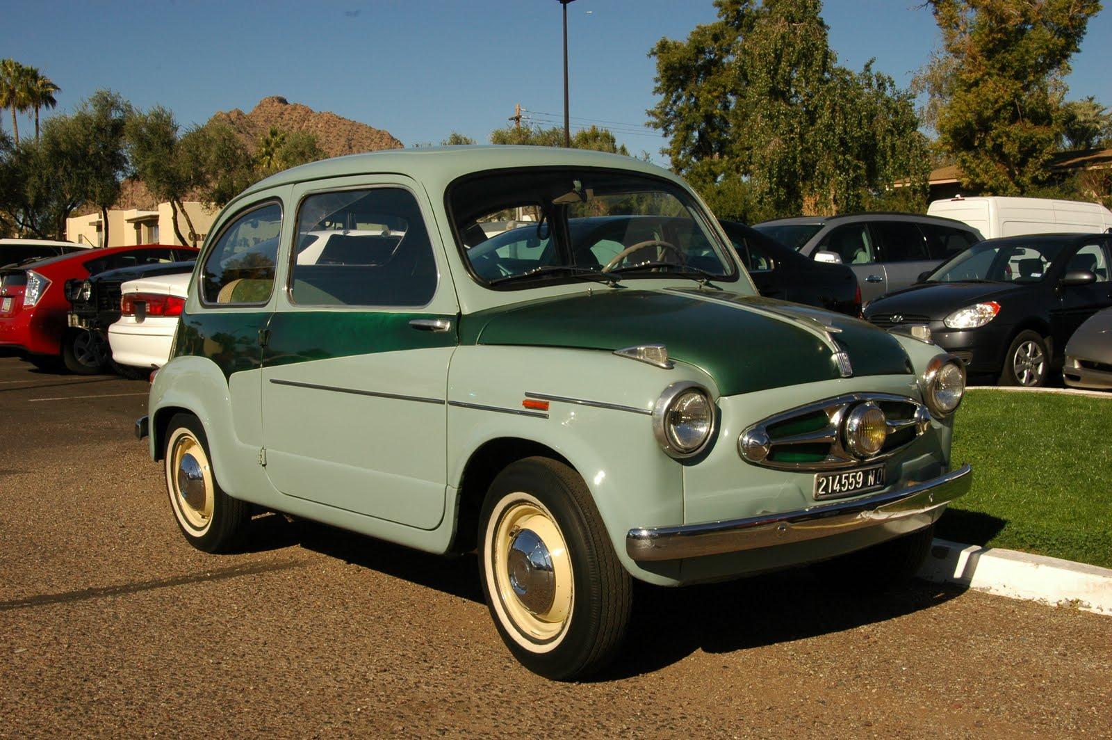 1955 Fiat 600.