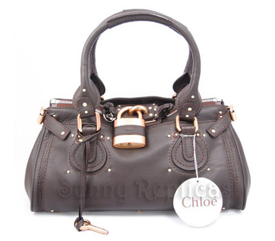 chloe paddington. dark brown in colour. unsure authentic. selling at