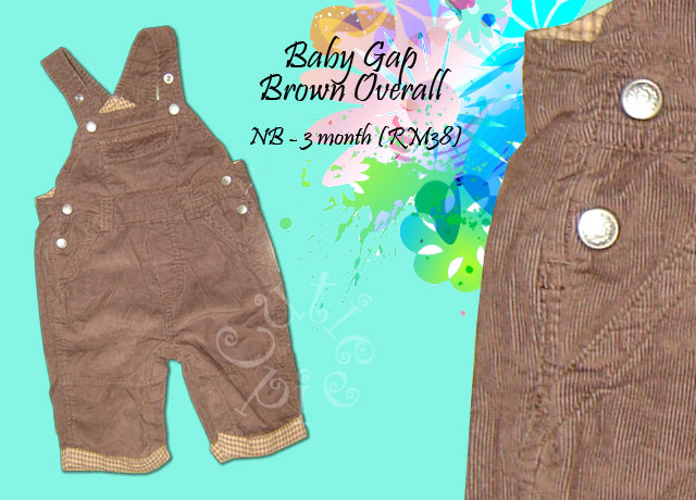 Baby Gap - Brown Overall