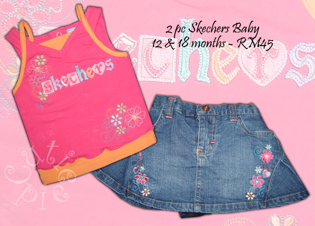 2 pc skechers Baby