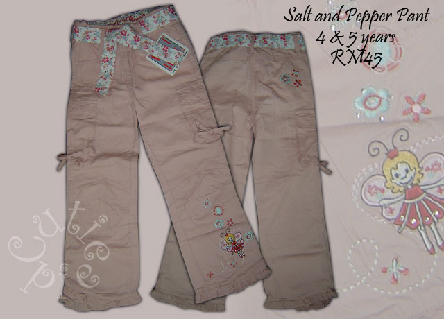 Salt and Pepper Pant