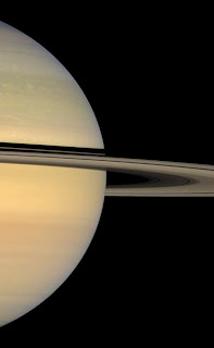 Cassini's view of Saturn
