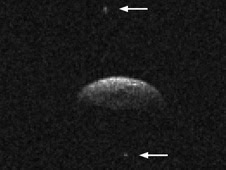 Radar imaging at NASA's Goldstone Solar System Radar on June 12 and 14, 2009, revealed that near-Earth asteroid 1994 CC is a triple system.