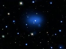 Composite image of JKCS041, the most distant galaxy cluster ever detected