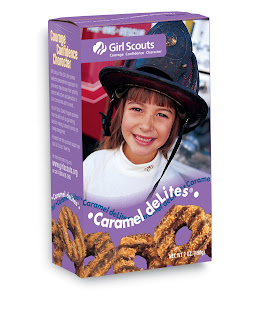 The Redder, The Better: Knockoff Girl Scout Samoas?!