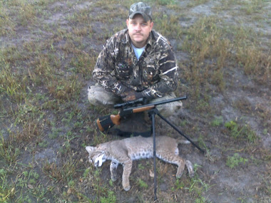 Tommy Anderson predator hunting halloween morning 2010