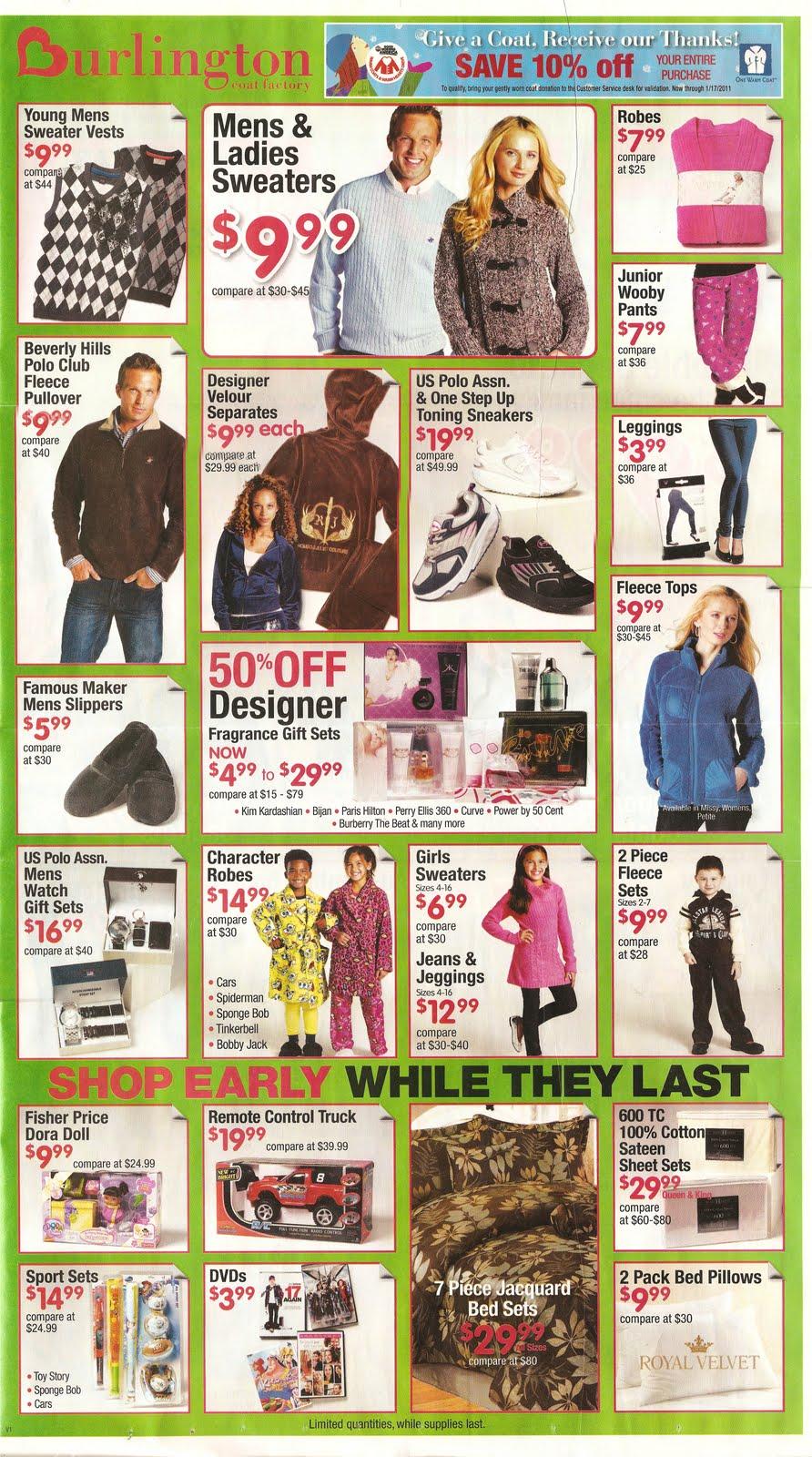 Burlington online coupons