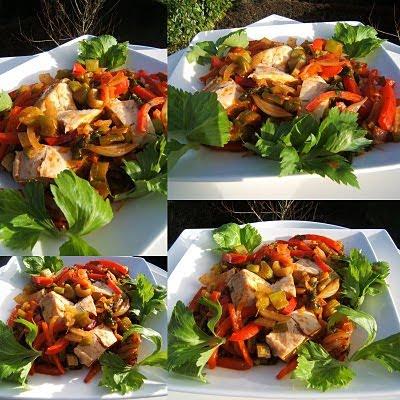 Le journal gourmand de sacha filet de poulet aux - Cuisiner le celeri branche ...
