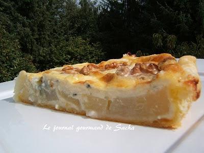 tarte aux poires pâte brisée