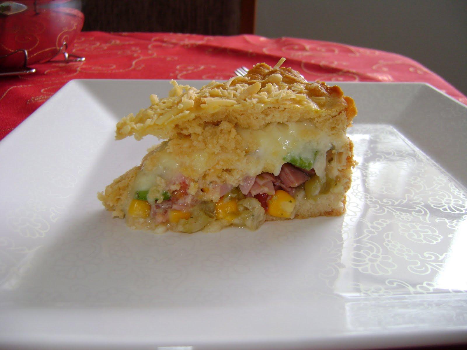 Eu Comeria Isso!: Torta Crocante Colorida