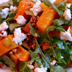 ... Beet and Arugula Salad with Pecans and Goat Cheese – This One's for