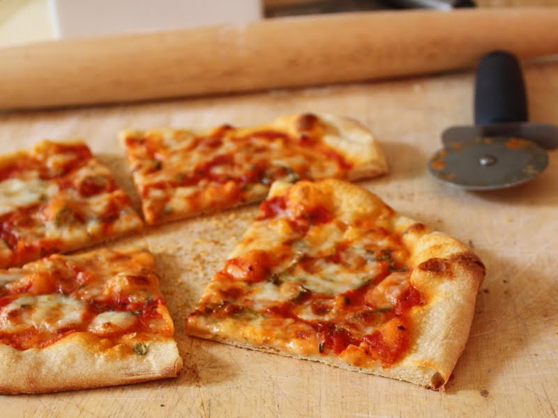 Food Wishes Video Recipes: No-Knead Pizza Dough (The Remix)